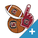 South Carolina Gamecocks PLUS Selfie Stickers by 2Thumbz, Inc