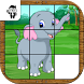 Animal Slide Puzzle Kids Game by Prophetic Games