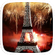 Golden Love Eiffel Tower Theme by yuqingtheme