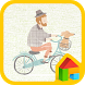 Bicycle LINE Launcher theme by Camp Mobile for dodol theme