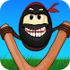 Crazy Ninja Egg: Clumsy Jump by Kaufcom Games Apps Widgets