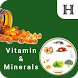Vitamins:Functions and Sources by Hydroid