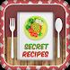 Secret Recipes: Easy Cookbook & Shopping List