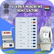 VVPAT Electronic Voting Machine Simulator by Prank Desk Screen