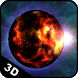 Planet Fire 3D Live Wallpaper by FunGames10