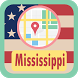 USA Mississippi Maps by USA Maps and Street DIrections