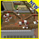 Christmas Park MCPE map by Smileapps Studio