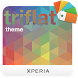 XPERIA™ Triflat Theme by Sony Mobile Communications