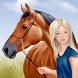 Pferde- und Reiter Anzieh-Spaß
