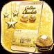 Gold Glitter Chocolate Keyboard