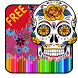 Adult Coloring Sugar Skull by Wonder Games