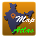 India Map Atlas - 250+ maps by Mamta Chinia