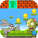 jungle bunny running vs zombie by game casual