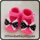 DIY Crochet Baby Slippers by Lisensedroid