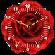 Rose Clock Live Wallpaper by Mobile Masti Zone