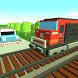 Train mania: Railroad crossing by Explain3D