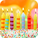 Birthday song, cake and candle by Dandelion Soft