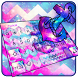 Anchor Graffiti Typany Keyboard by Cool Themes and art work