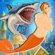 Merman Shark Attack by KG Tasarım