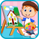 Kids Painting & Coloring Books by EvilByte Games