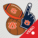 Auburn Tigers Animated Selfie Stickers by 2Thumbz, Inc