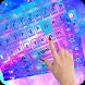 Galaxy Neon Keyboard theme by Songandong