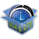 Circle alarm clock. BOX. LITE. by Laboratory 27