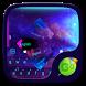 Colorful Galaxy Keyboard Theme by Theme2016