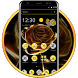 Gold Rose Luxurious Theme by HD Themes and Wallpaper