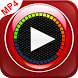 MP4 mobiplayer: auto bass booster video player