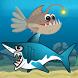 Lantern Fish Shark Attack by KG Tasarım