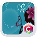 Lady Butterfly Theme CLauncher by Baj Launcher Team