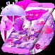 Purple Love Rose Valentine Theme