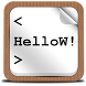 HelloW! - Code Snippets by wasted!deas