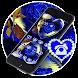 Blue Love Rose Water Reflection Theme by Beauty Stylish Theme
