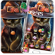 Beautiful Cat Halloween Theme