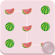 Watermelon App Lock Theme by com.androidrokes