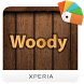 Xperia™ theme - Woody by Sony Mobile Communications