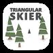 Triangular Skier