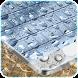Water Keyboard Theme free by nexttmax