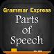Grammar : Parts of Speech by Webrich Software