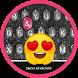 Glass Drop Theme&Emoji Keyboard