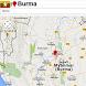 Burma map by Golden Mapas