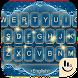 Classical Luxury Blue Keyboard Theme by Sexy Free Emoji Keyboard Theme