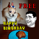 FUNNY MEMES BIRTHDAY CARDS by GEKpro