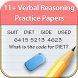 11+ Verbal Reasoning Papers by Webrich Software