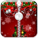 Christmas Zipper Lock Screen by The Fashion World
