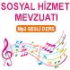 SOSYAL HİZMET MEVZ.SESLİ DERS by Ses.Listen