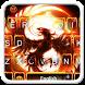 Fire Phoenix Keyboard Theme by 7star princess