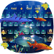 3D Ocean Aquarium Keyboard